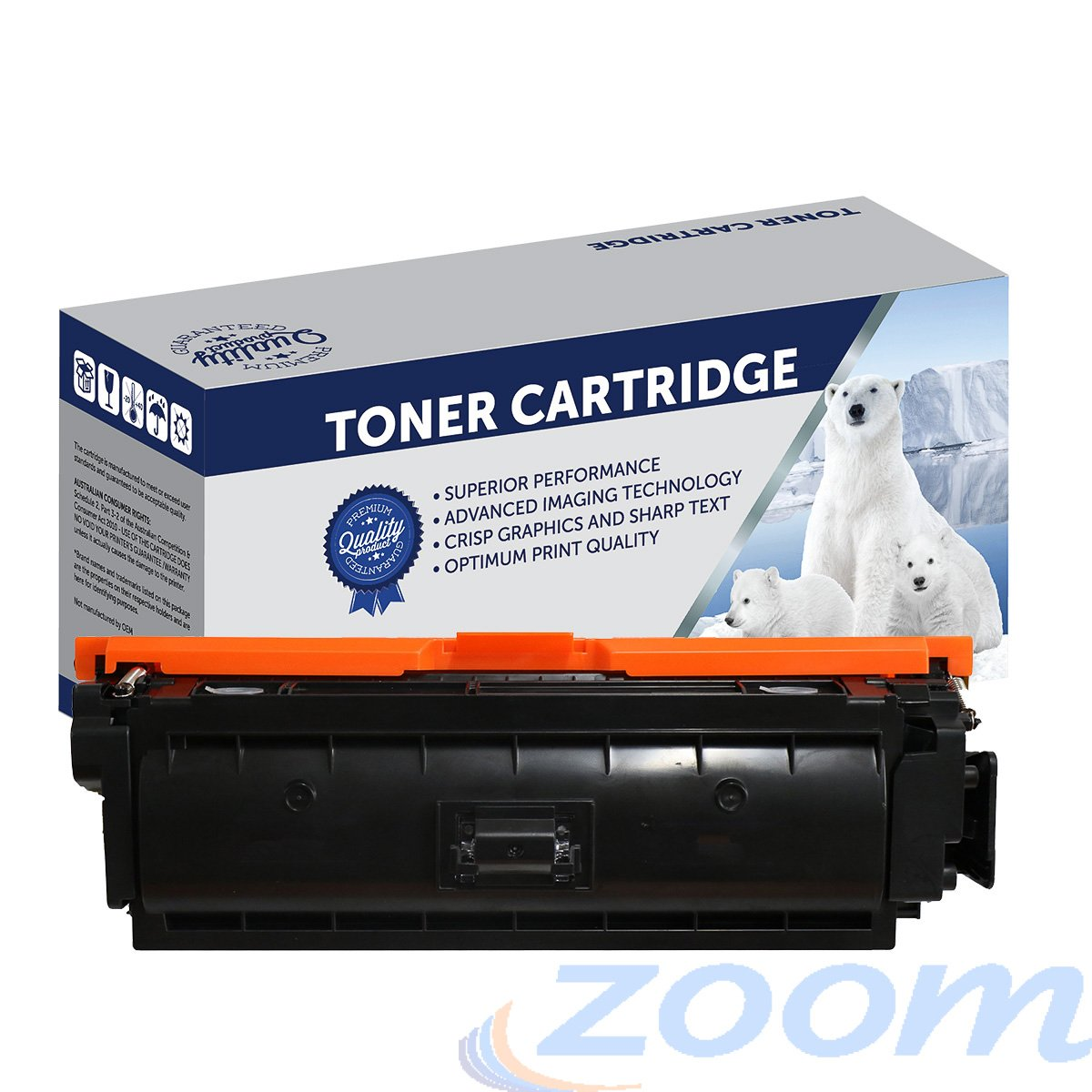 Premium Compatible HP CE403A, #507 Magenta Toner Cartridge