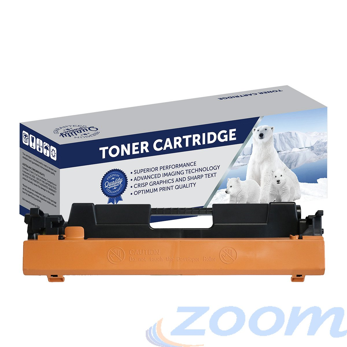Premium Compatible HP CF230A, #30A Mono Toner Cartridge
