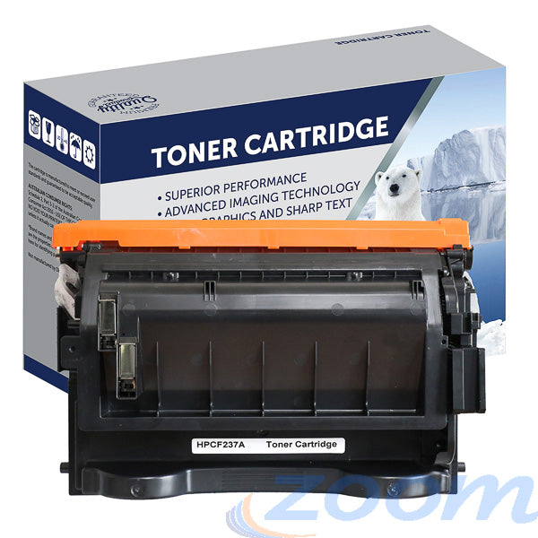 Premium Compatible HP CF237A, #37A Mono Toner Cartridge