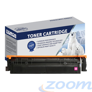 Premium Compatible HP CF503X, #202X Magenta Toner Cartridge
