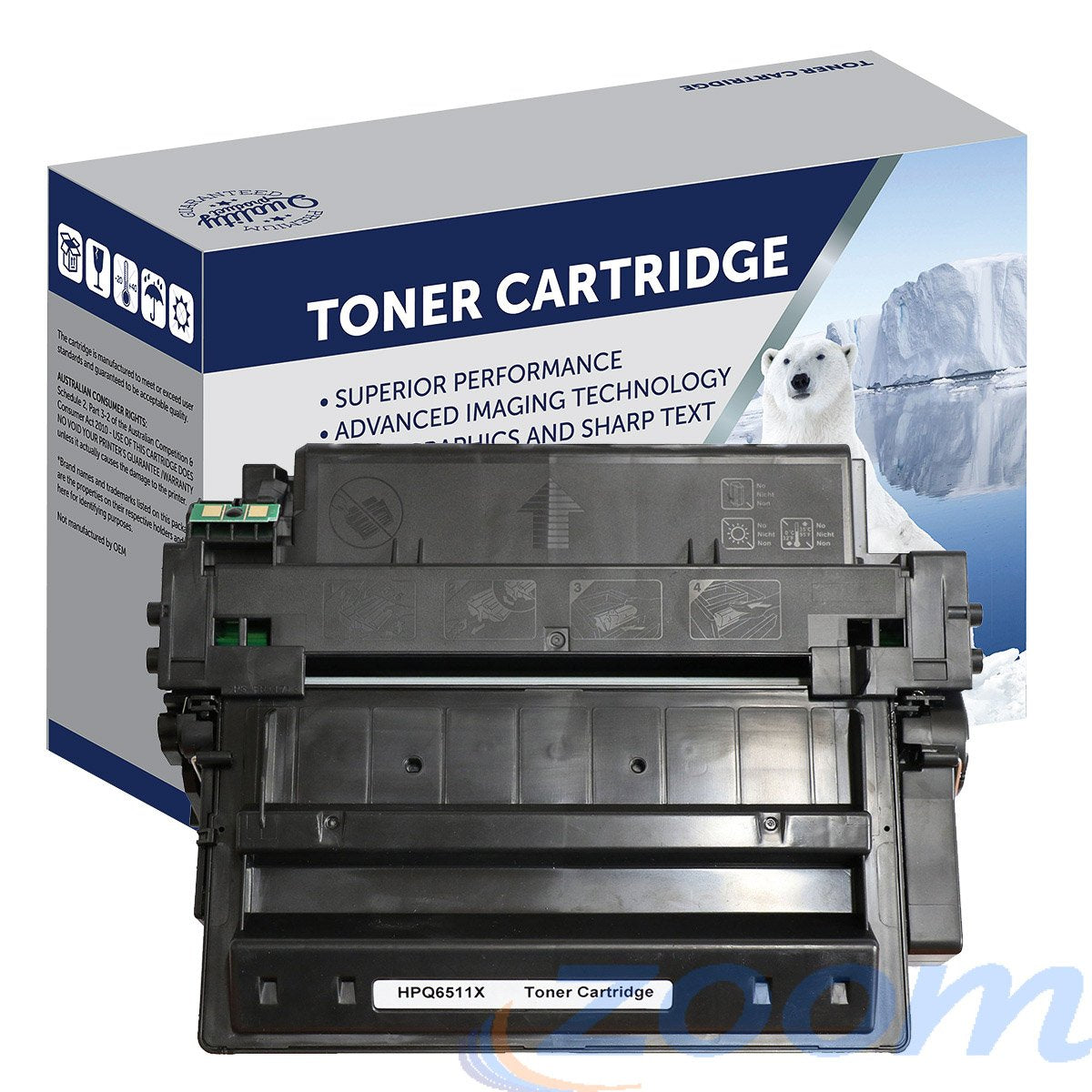 Premium Compatible Canon CART310II, CART310 Mono High Yield Laser Toner