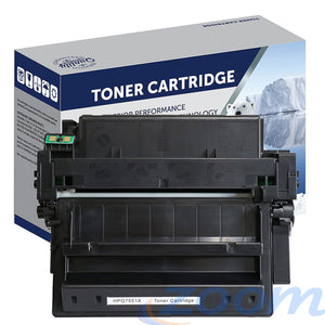 Premium Compatible HP Q7551X, #51X Mono High Yield Toner Cartridge