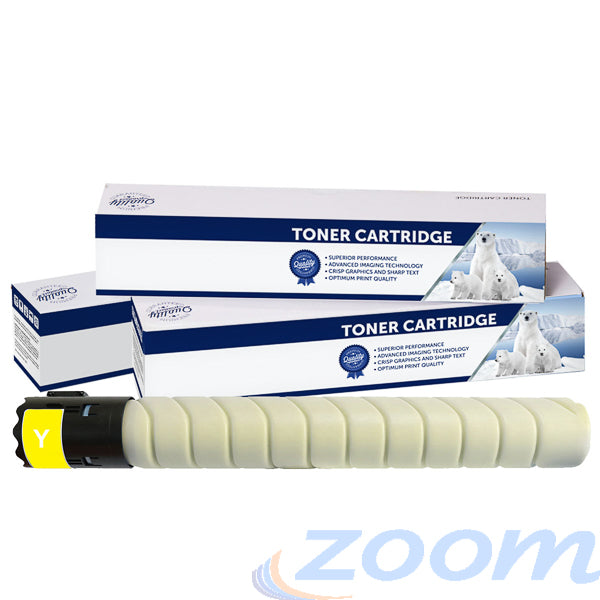 Premium Compatible Konica Minolta A11G291, TN216 Yellow Toner Cartridge