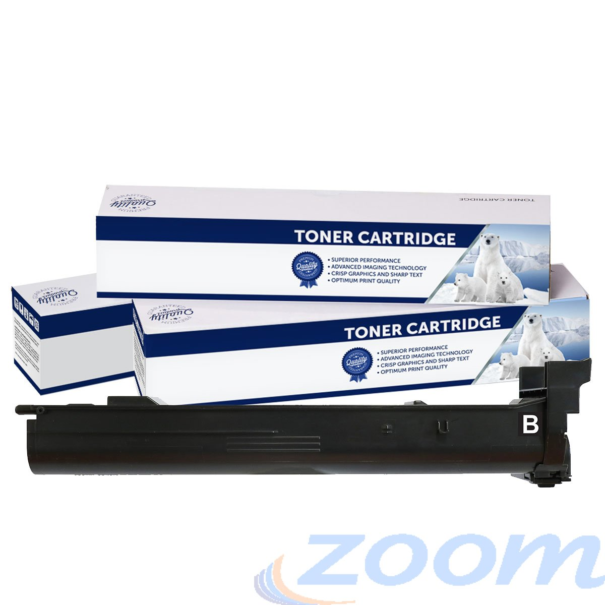 Premium Compatible Konica Minolta A0DK153, TN318B Black Toner Cartridge