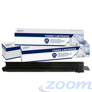 Premium Compatible Kyocera TK8319K Black Toner Cartridge + 1 Waste Container
