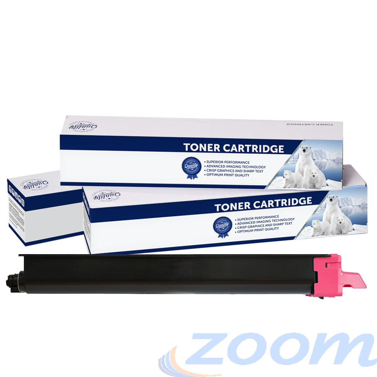 Premium Compatible Kyocera TK8329M Magenta Toner Cartridge + 1 Waste Container