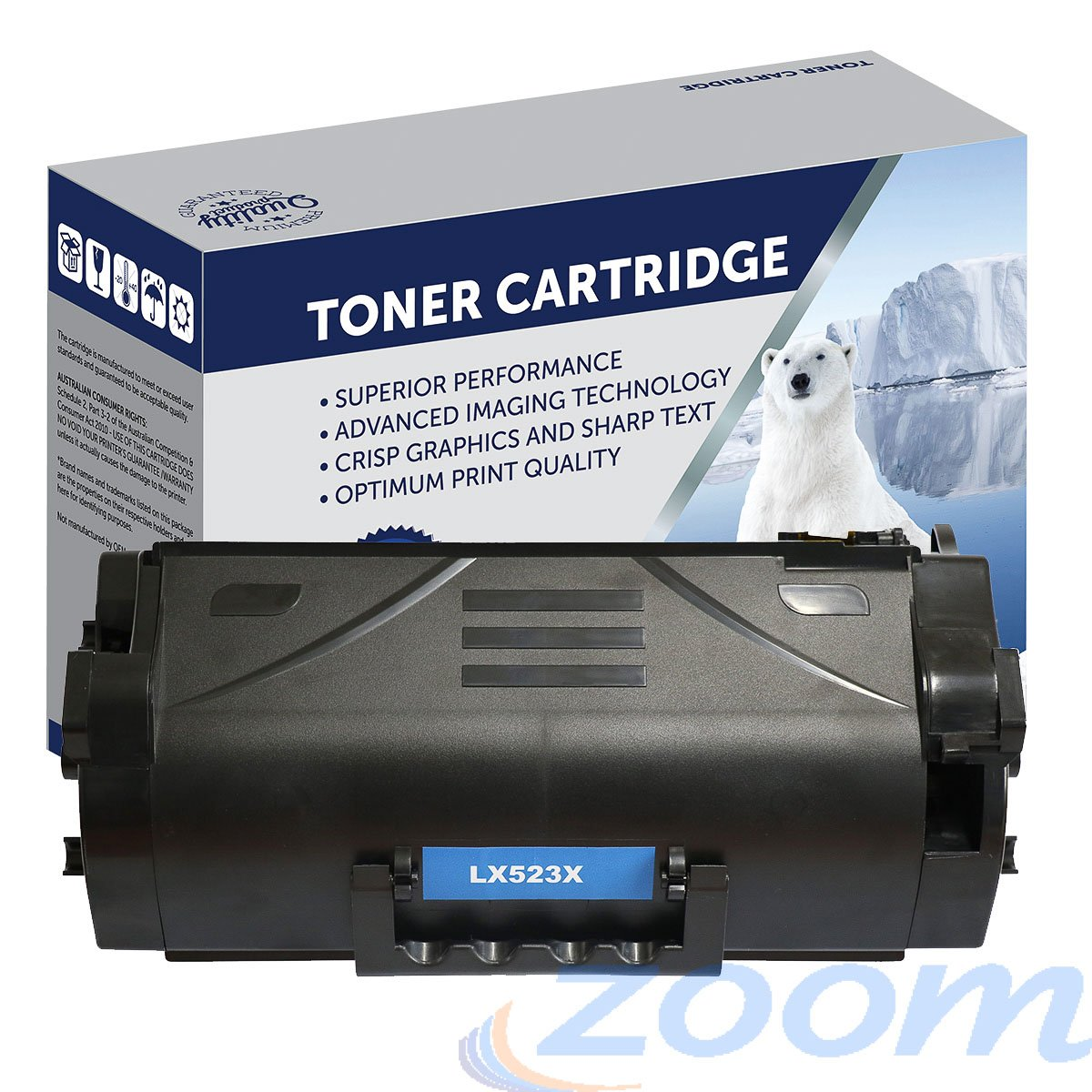 Premium Compatible Lexmark 52D3H00 Mono High Yield Toner Cartridge