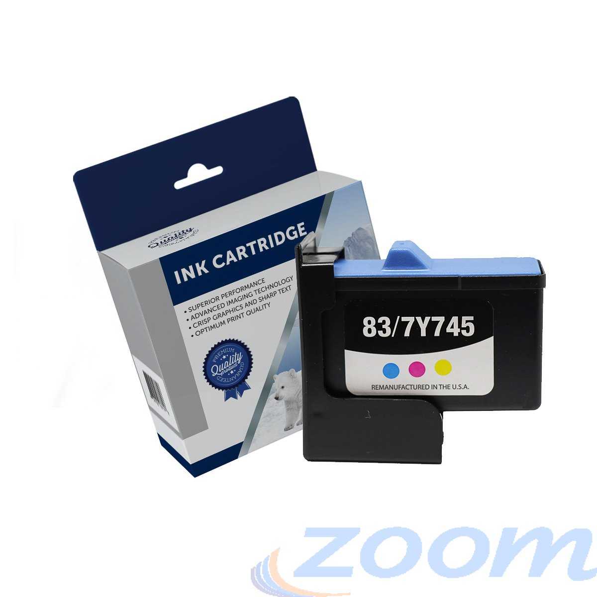 Premium Compatible Dell Series2, 7Y7435, 7Y7435 TriColour Ink Cartridge