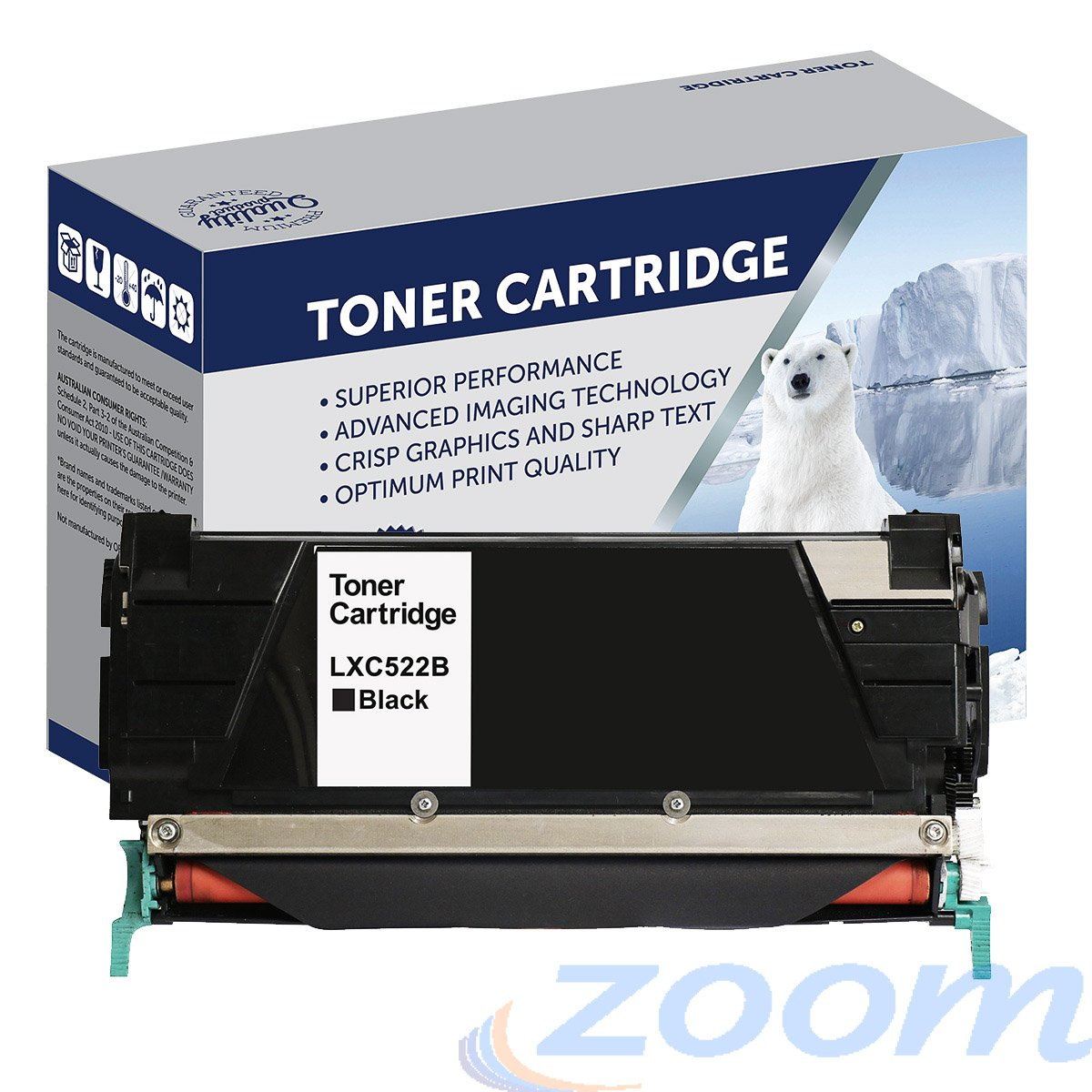 Premium Compatible Lexmark C5220KS Black Toner Cartridge