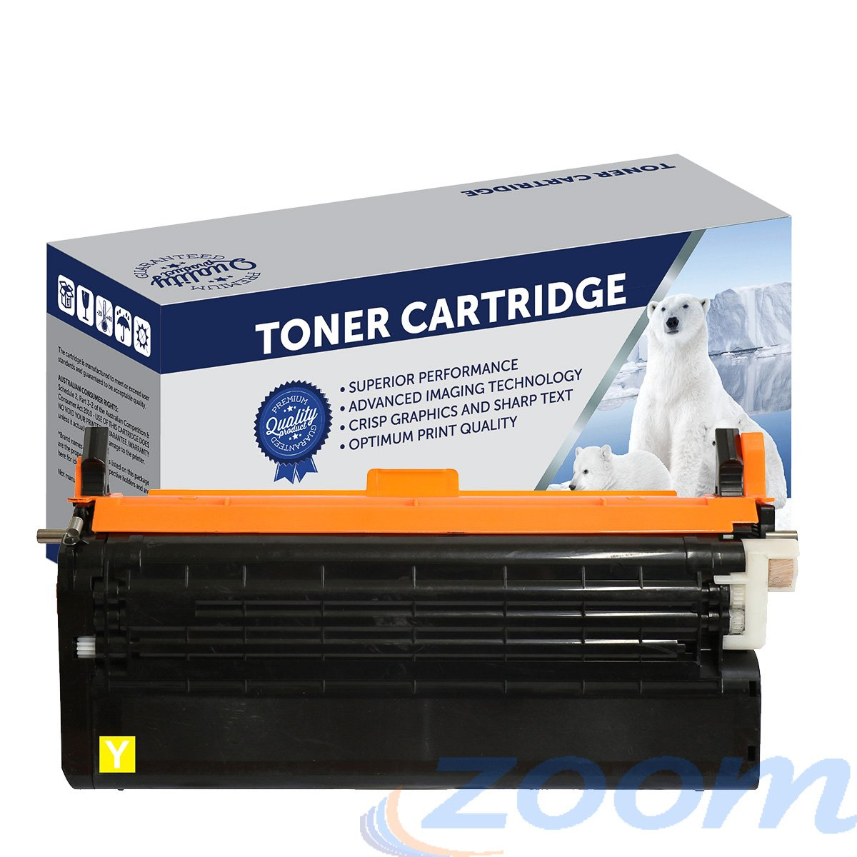 Premium Compatible Lexmark X560H2YG Yellow Toner Cartridge