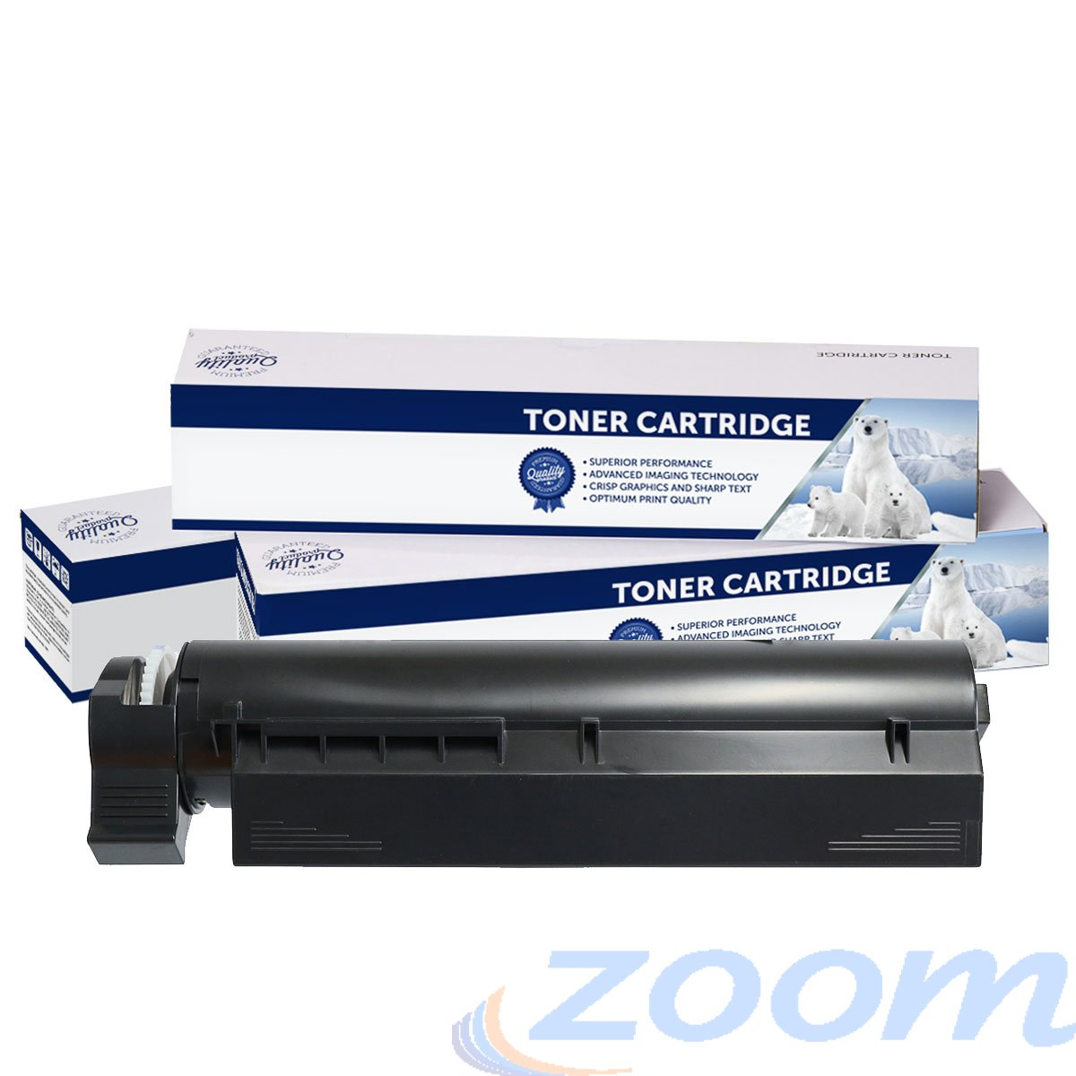 Premium Compatible Oki 45807107 Mono Toner Cartridge