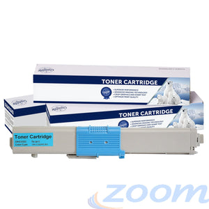Premium Compatible Oki 46508719 Cyan Toner Cartridge