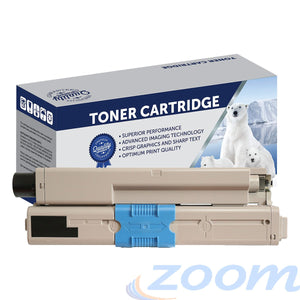Premium Compatible Oki 44469806 Black Toner Cartridge