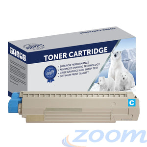Premium Compatible Oki 44059135 Cyan Toner Cartridge