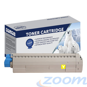 Premium Compatible Oki 44844525 Yellow Toner Cartridge