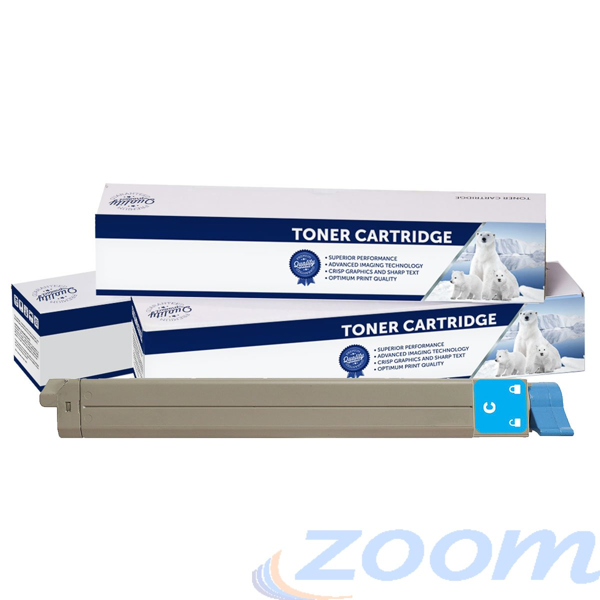 Premium Compatible Oki 42918967 Cyan Toner Cartridge