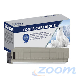 Premium Compatible Oki 44059244 Black Toner Cartridge