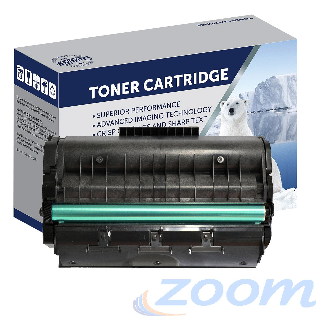 Premium Compatible Ricoh 407247 Mono Toner Cartridge