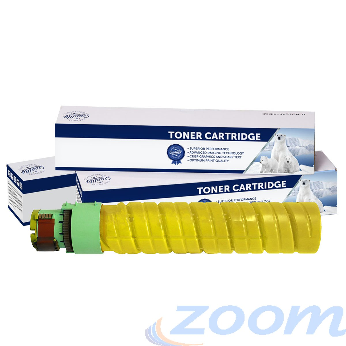 Premium Compatible Ricoh 888313 Yellow Toner Cartridge