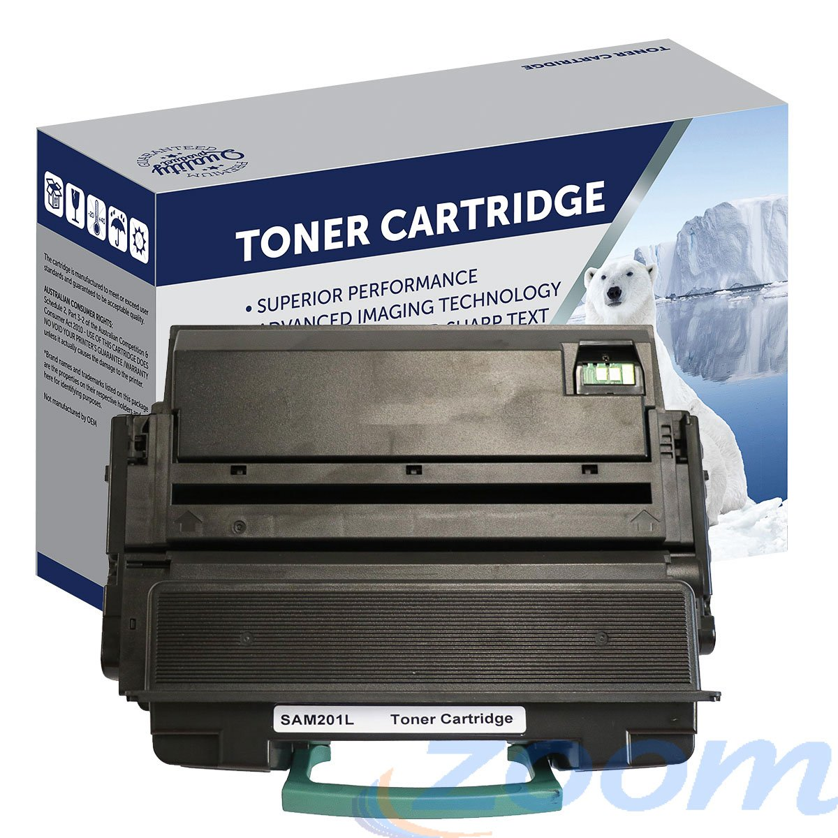 Premium Compatible Samsung SU871A, MLTD201L Mono High Yield Toner Cartridge