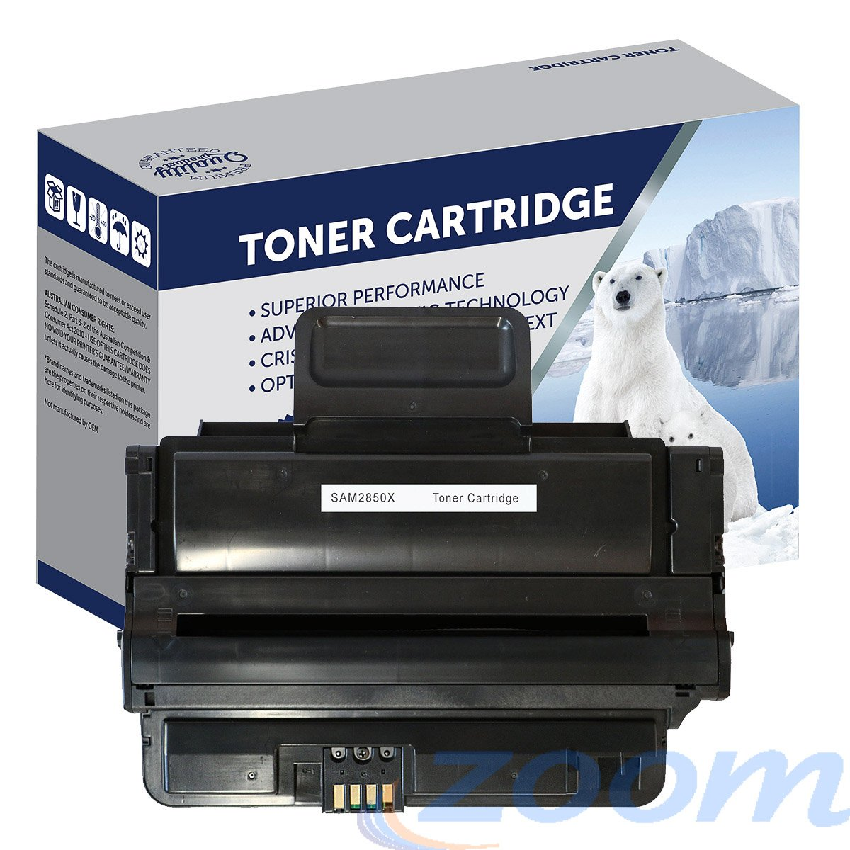 Premium Compatible Samsung SU656A, MLD2850B Mono High Yield Toner Cartridge