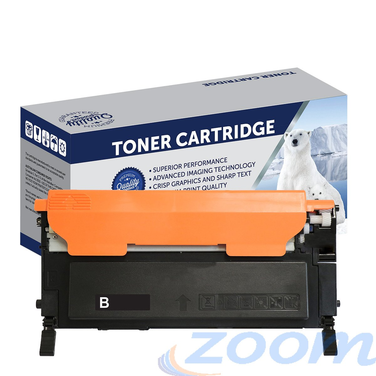 Premium Compatible Samsung SU140A, CLTK409S Black Toner Cartridge