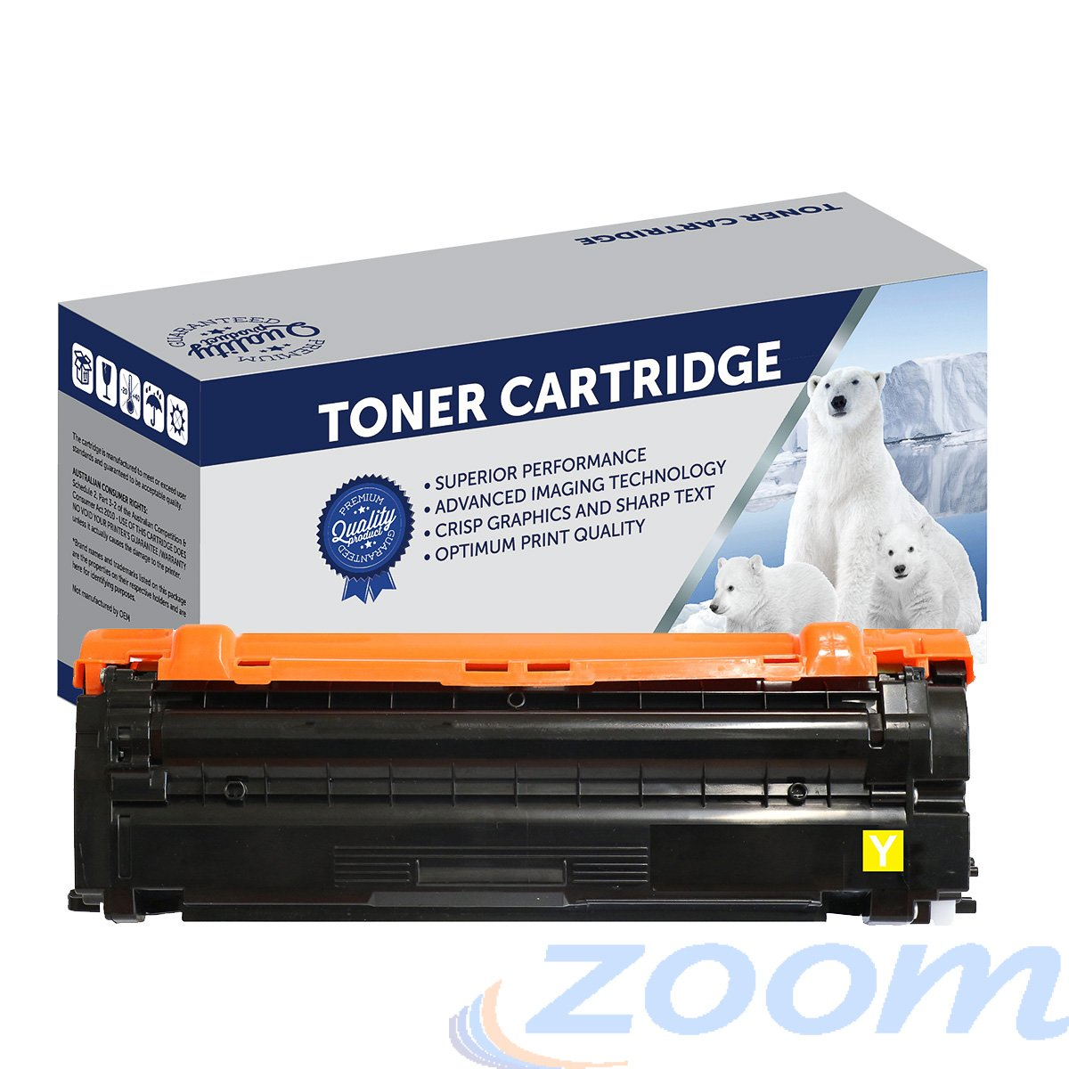 Premium Compatible Samsung SU493A, CLTY503L Yellow Toner Cartridge