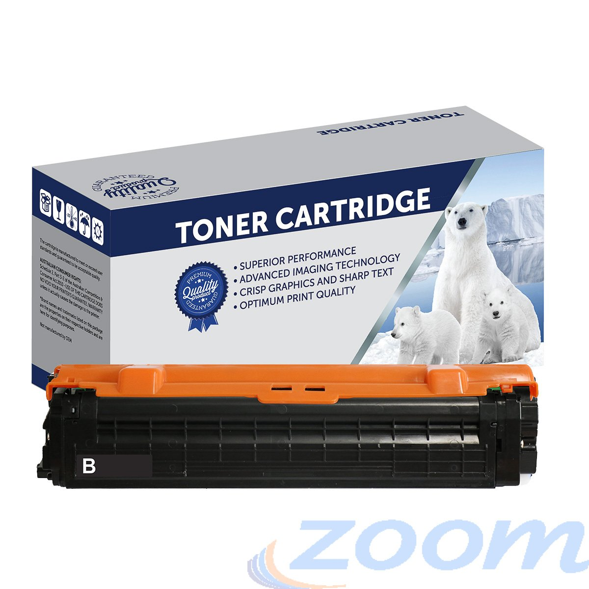 Premium Compatible Samsung SU169A, CLTK505L Black Toner Cartridge