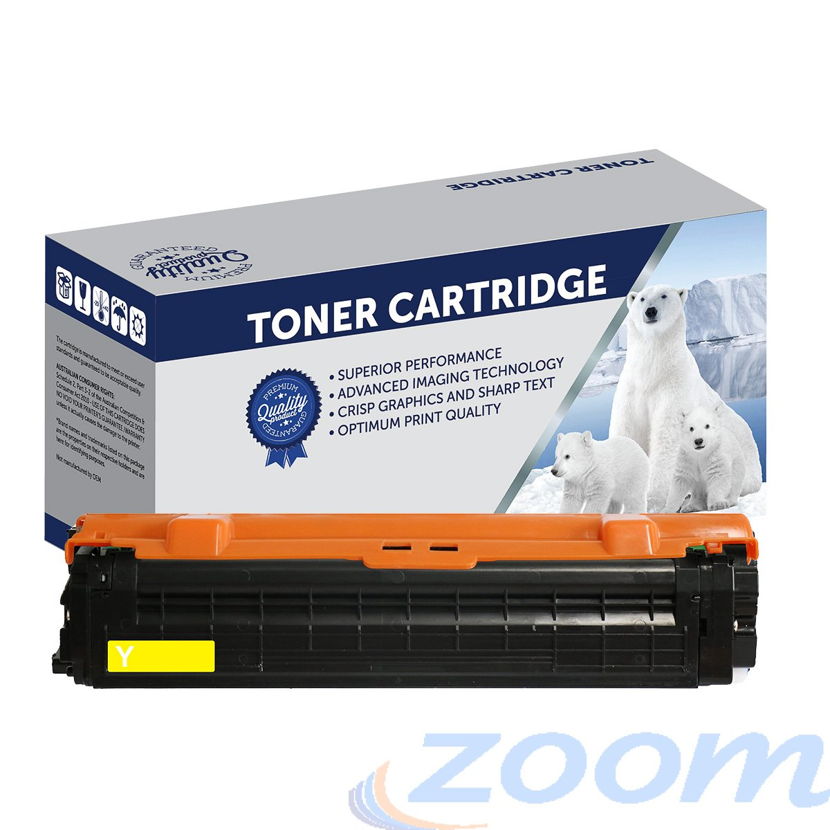 Samsung SU513A Yellow Toner Cartridge