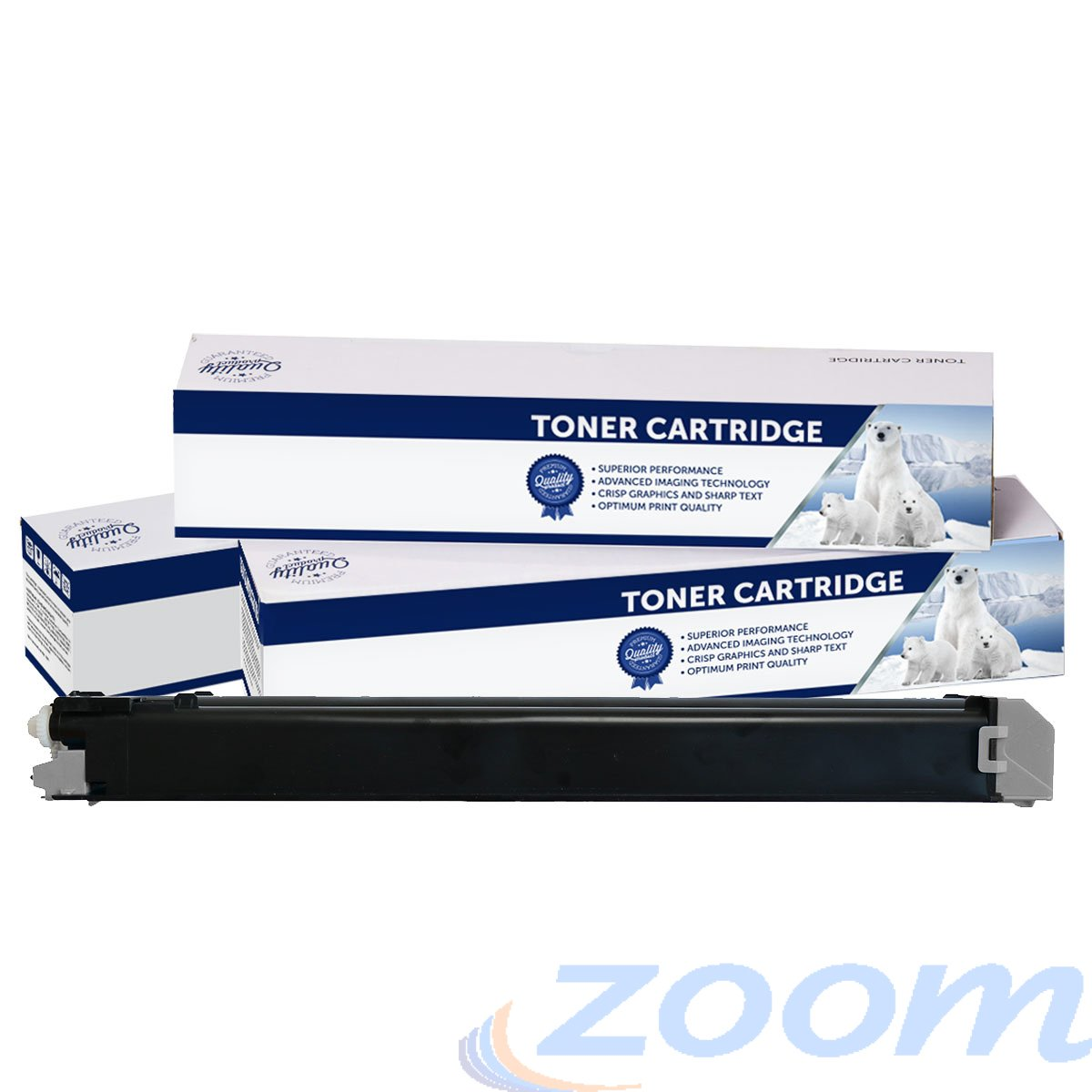 Premium Compatible Sharp MX23GTBA Black Toner Cartridge