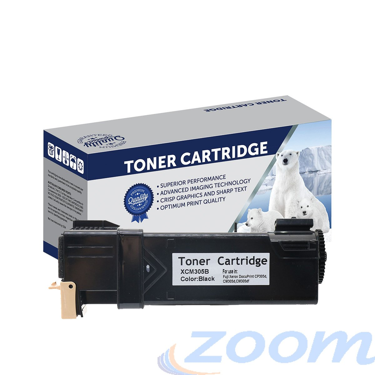 Premium Compatible Xerox CT201632 Black Toner Cartridge
