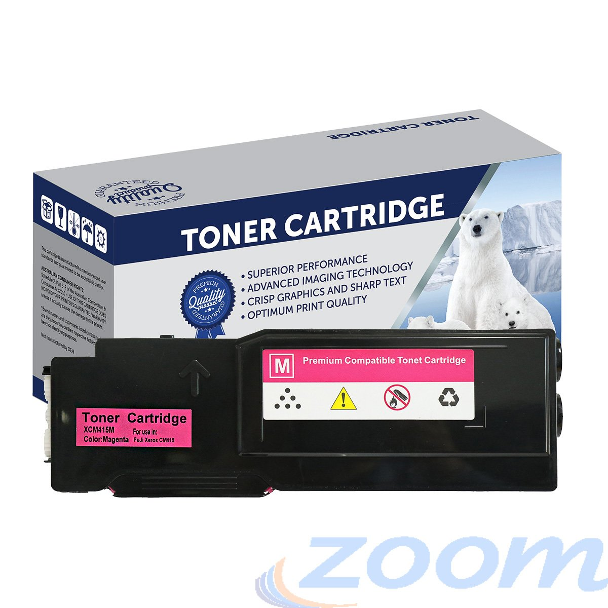 Premium Compatible Xerox CT202354 Magenta Toner Cartridge