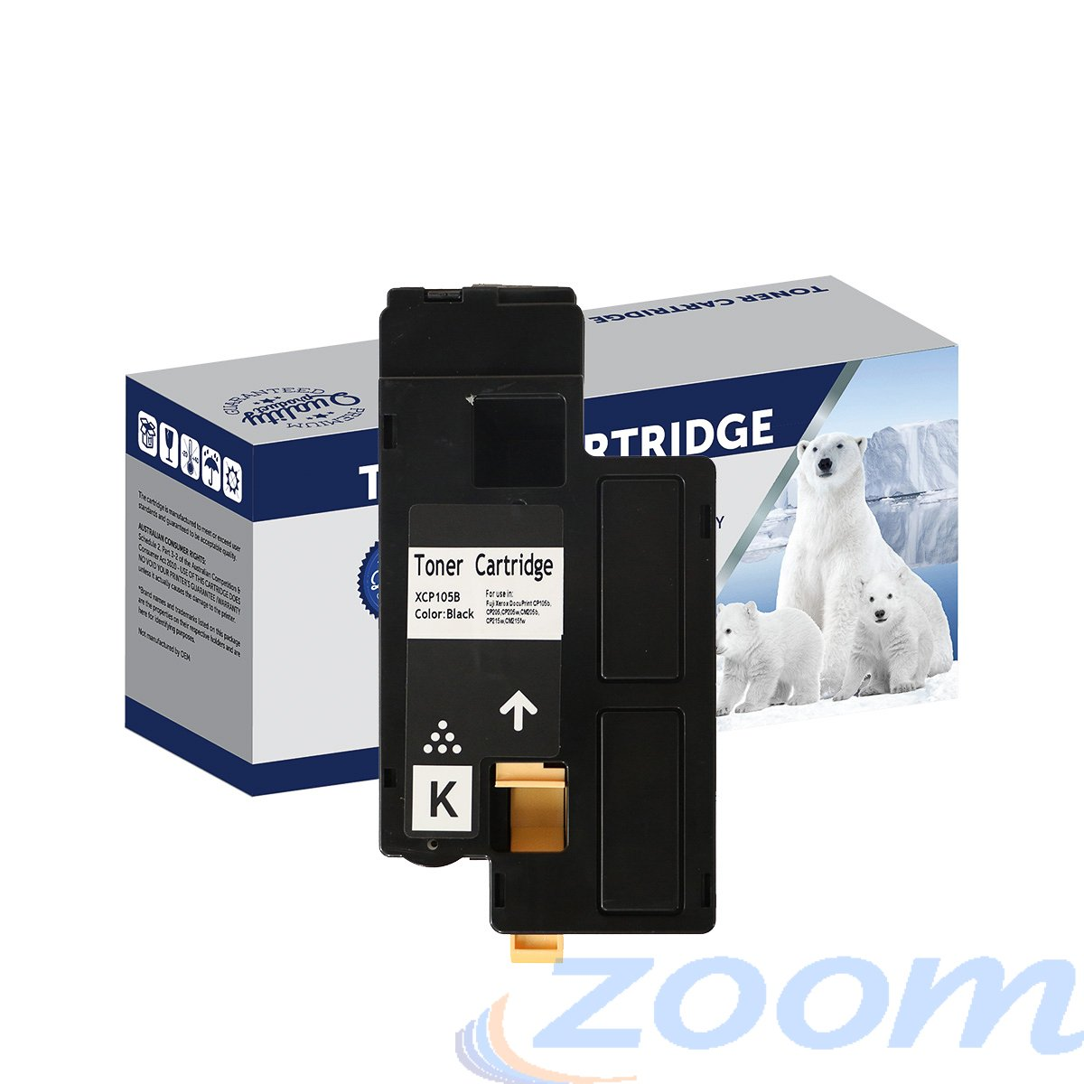 Premium Compatible Xerox CT201591 Black Toner Cartridge