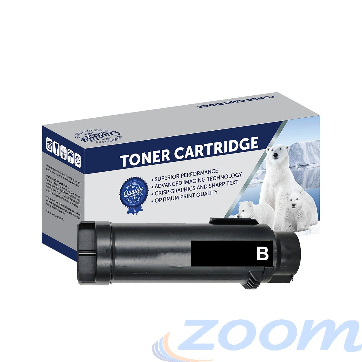 Premium Compatible Xerox CT202610 Black Toner Cartridge