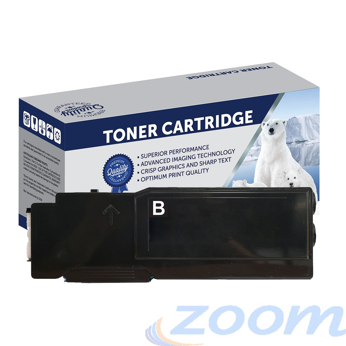 Premium Compatible Xerox CT202033 Black Toner Cartridge