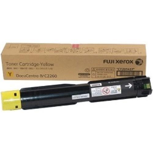 Fuji Xerox CT201437 Yellow Toner Cartridge