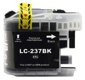 Premium Compatible Brother LC237XLBK Black Extra High Yield Ink Cartridge