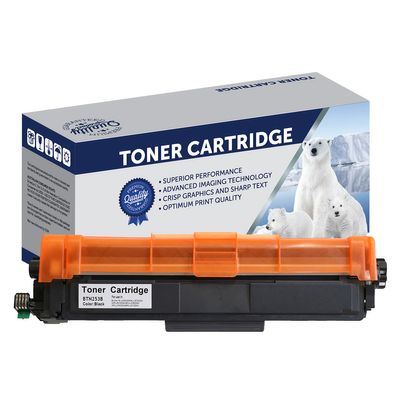 Brother TN253BK, Compatible Black Toner Cartridge - 2,500 Pages