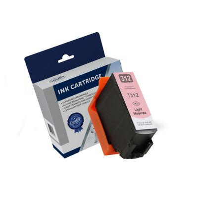 Epson C13T183692, 312XL, Compatible Light Magenta High Yield Ink Cartridge - 830 Pages