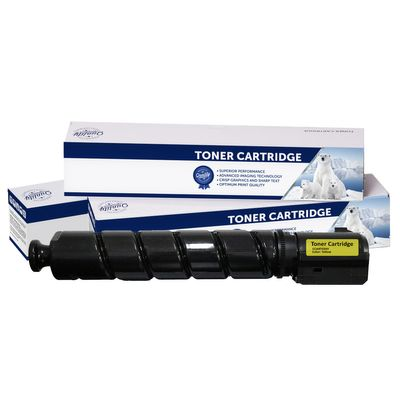 Canon CART034Y, Compatible Yellow Toner Cartridge - 7,300 Pages
