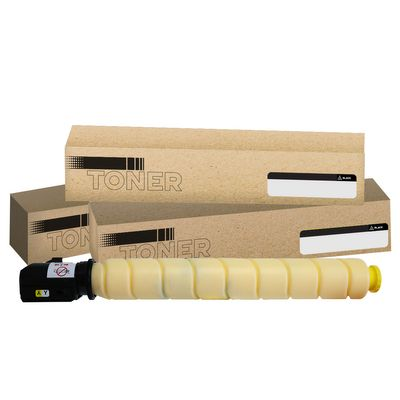 Canon TG58Y, GPR58, Compatible Yellow Toner Cartridge - 18,000 Pages