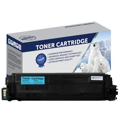 Samsung SV232A, CLTC603L, Compatible Cyan Toner Cartridge - 10,000 Pages