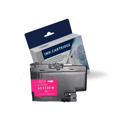 Brother LC-3339XLM, Compatible Magenta High Yield Ink Cartridge - 5,000 Pages