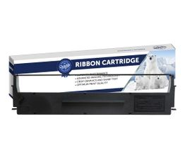 Premium Compatible Epson C13S015021, 7753 Black Printer Ribbon