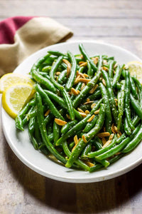 French Beans With Parmesan And Lemon
