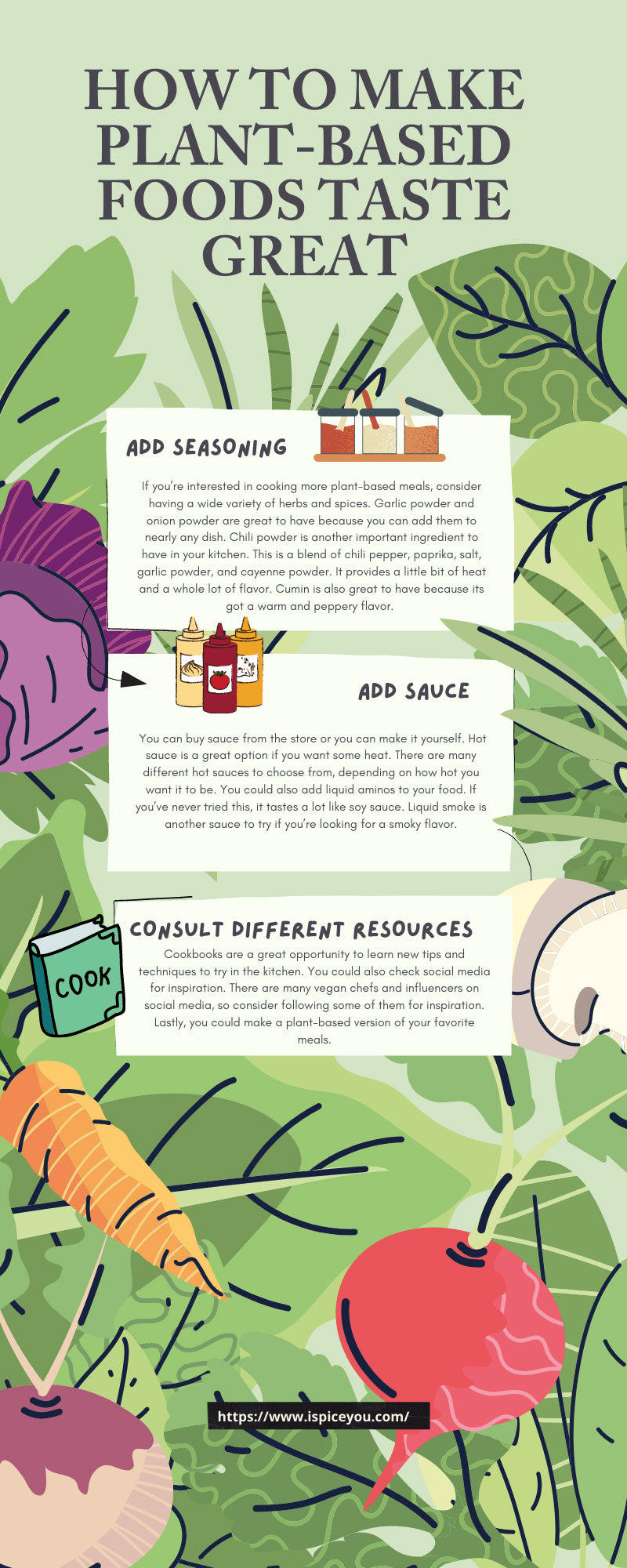 How To Make Plant-Based Foods Taste Great