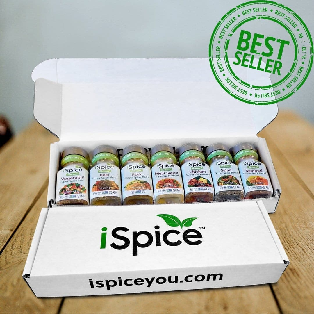 Custom 7 Pack Seasoning - iSpice You
