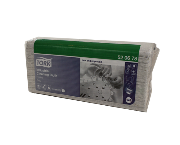 TORK INDUSTRIAL CLEANING CLOTH - GREY
