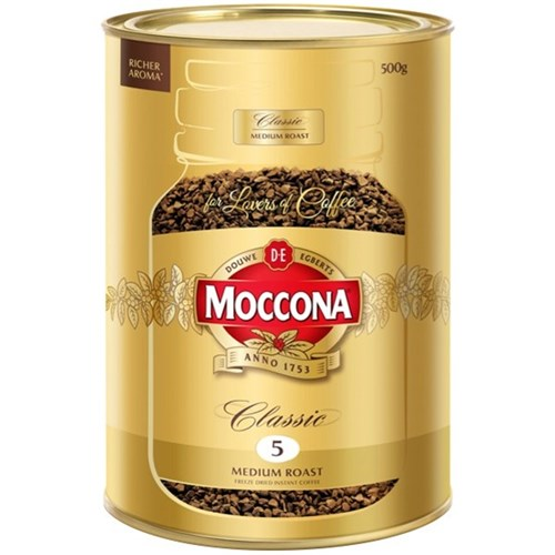 MOCCONA CLASSIC GOLD FREEZE DRIED 500G
