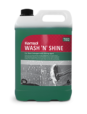 WASH AND SHINE VEHICLE SHAMPOO